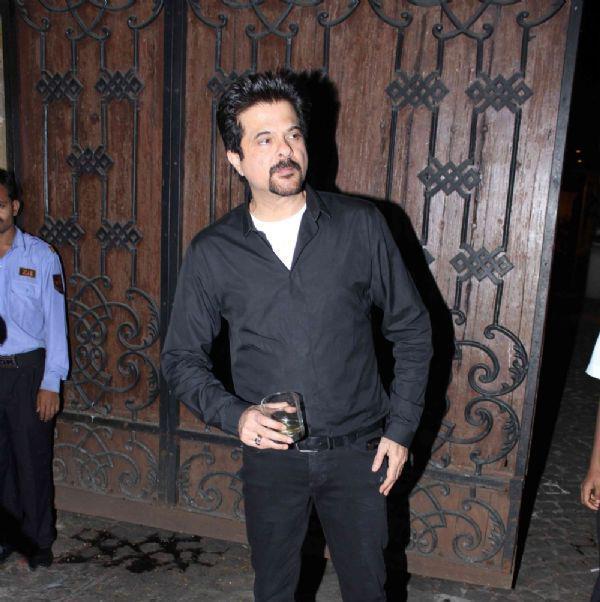 Anil Kapoor Look Smart At Jackky Bhagnani Birthday Bash
