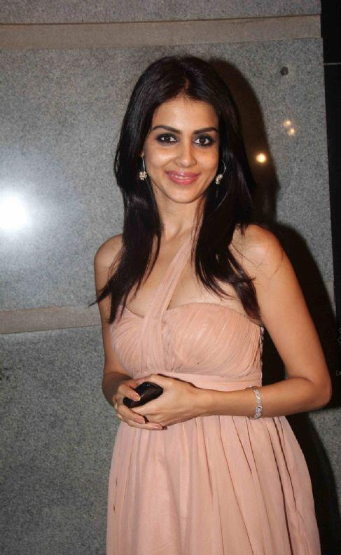 Genelia D'Souza Cute Smiling Still At Jacky Bhagnani Birthday Bash