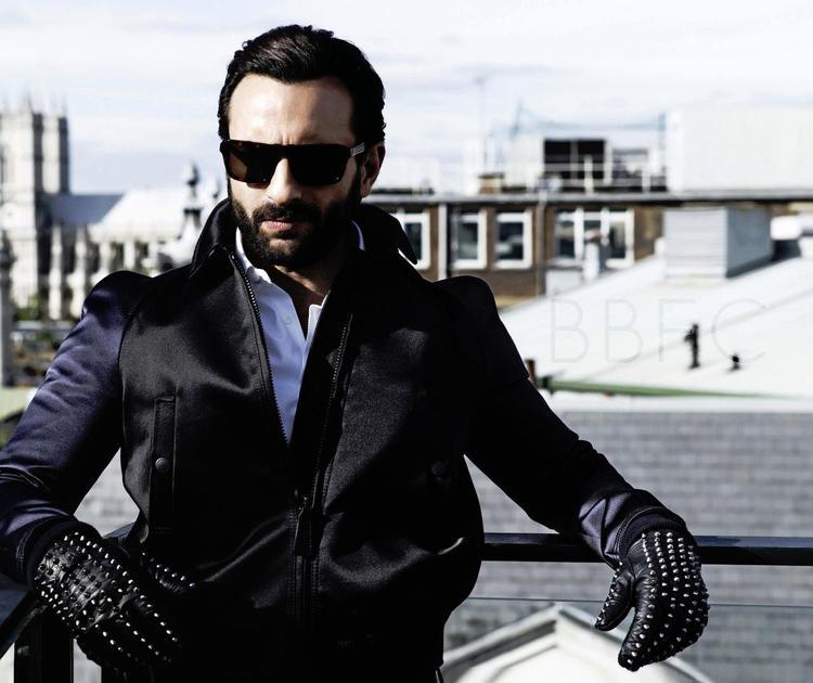 Saif Ali Khan Handsome Look Photo Shoot For GQ India January 2013
