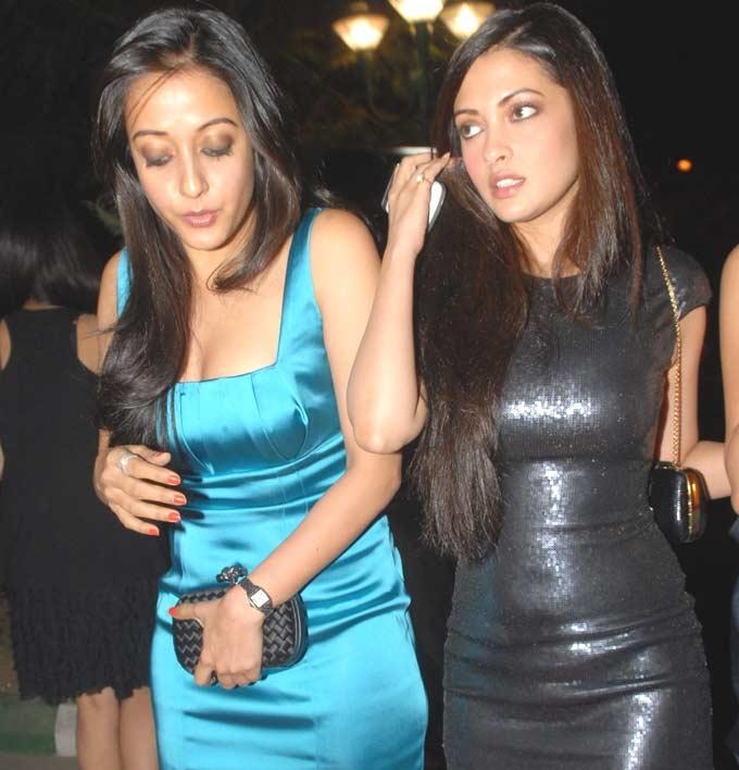 Riya And Raima Sizzling And Dazzling Look Photo Clicked In A n Event