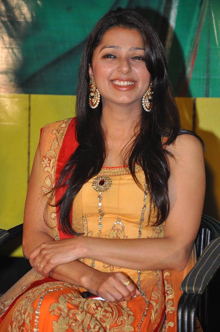 Bhumika Chawla Cute Smiling Still At April Fool Audio Launch