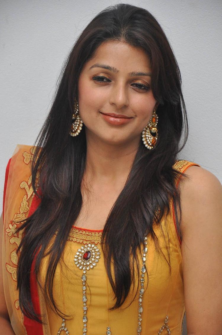 Bhumika Chawla Trendy Looking Photo Still At April Fool Audio Launch