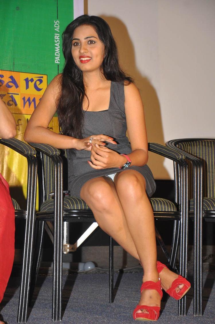 Sruthi Sexy Legs Show Hot Still