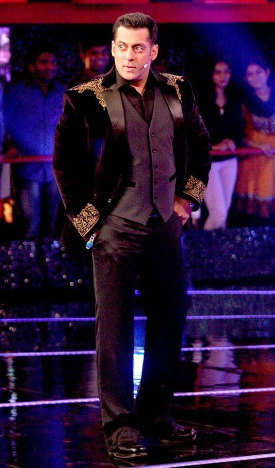 Salman Stylish Look Photo Clicked At Bigg Boss 6 Grand Finale