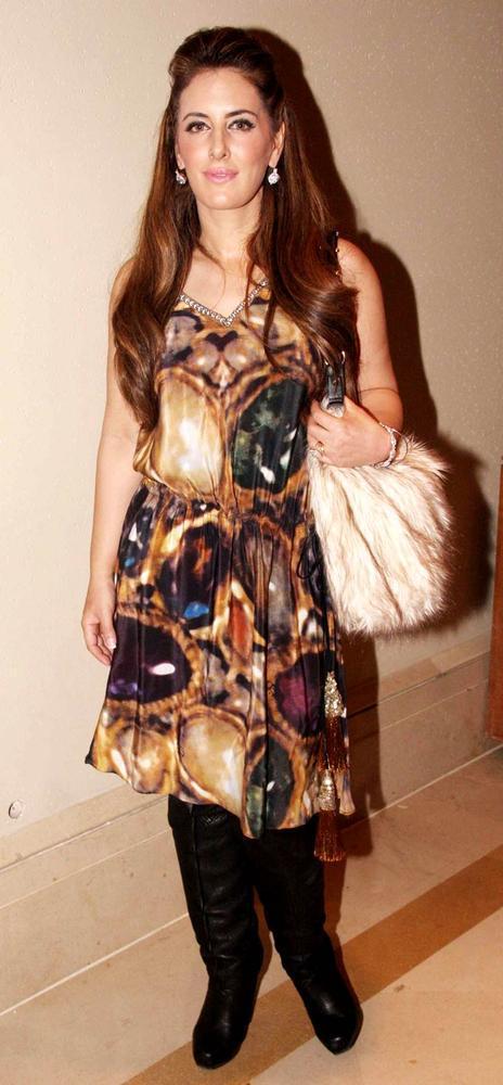 Pria Kataria Puri Clicked At Beti Fashion Show
