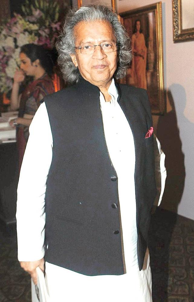 Anil Dharker Snapped At An Event