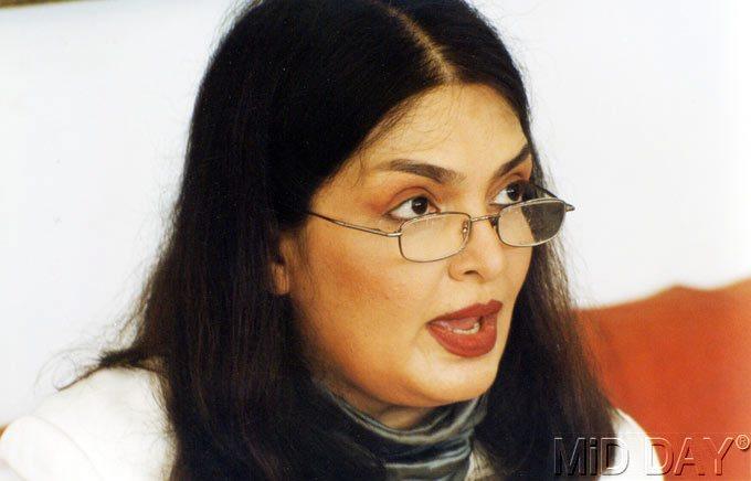Parveen Babi Speaking Still