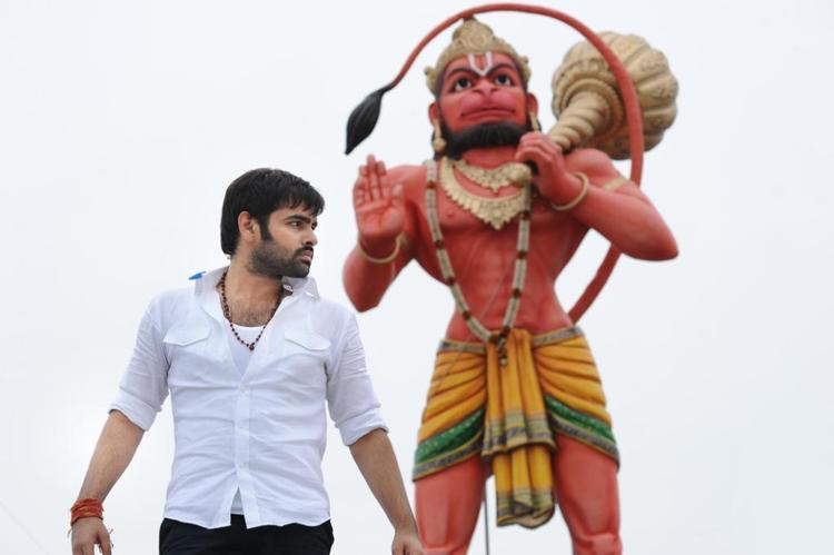 Ram Pothineni Latest Photo From Telugu Movie Ongole Githa