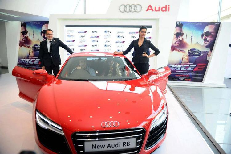 Deepika Padukone During The Launch Of New Audi R8