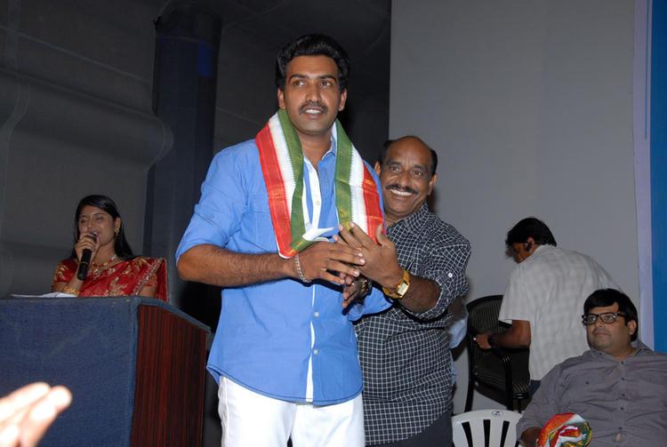 Celebs Are At Vishwa Vijetha Movie Audio Launch