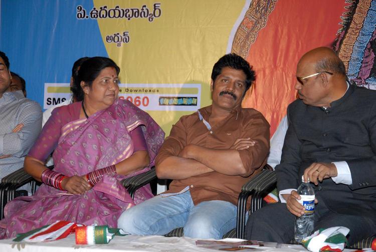 Shobha And Srihari Attend The Vishwa Vijetha Movie Audio Launch