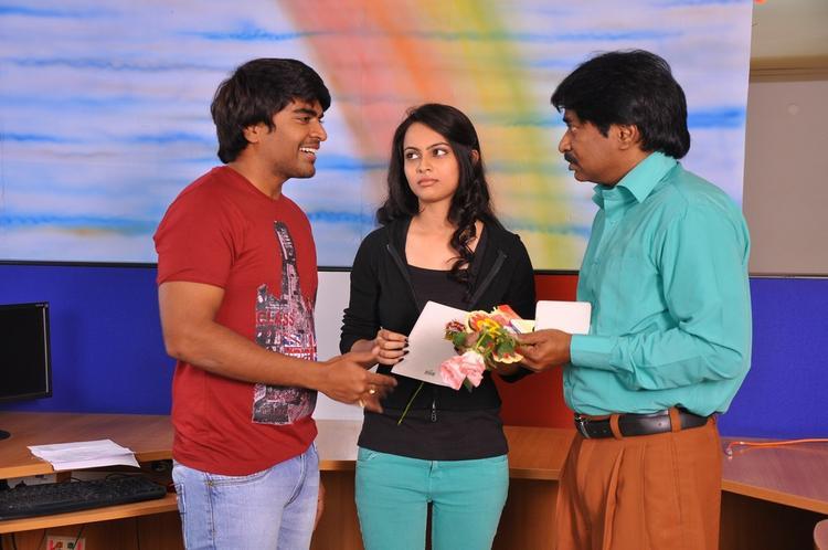 Srinivas And Simmi Latest Photo Still From Telugu Movie Churaka