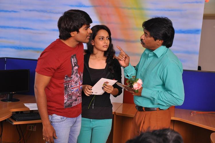 Srinivas And Simmi Photo Still From Telugu Movie Churaka
