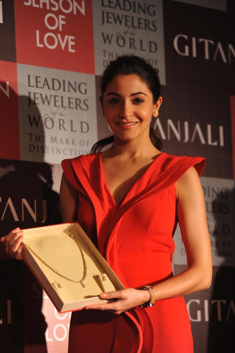 Gitanjali Jewels New Collection Season Of Love Launched By Anushka Sharma