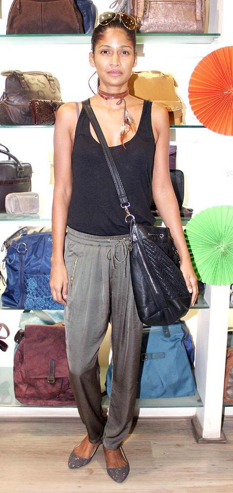 Carol Gracias Make An Appearance At The Launch Of A New Designer Bag Store