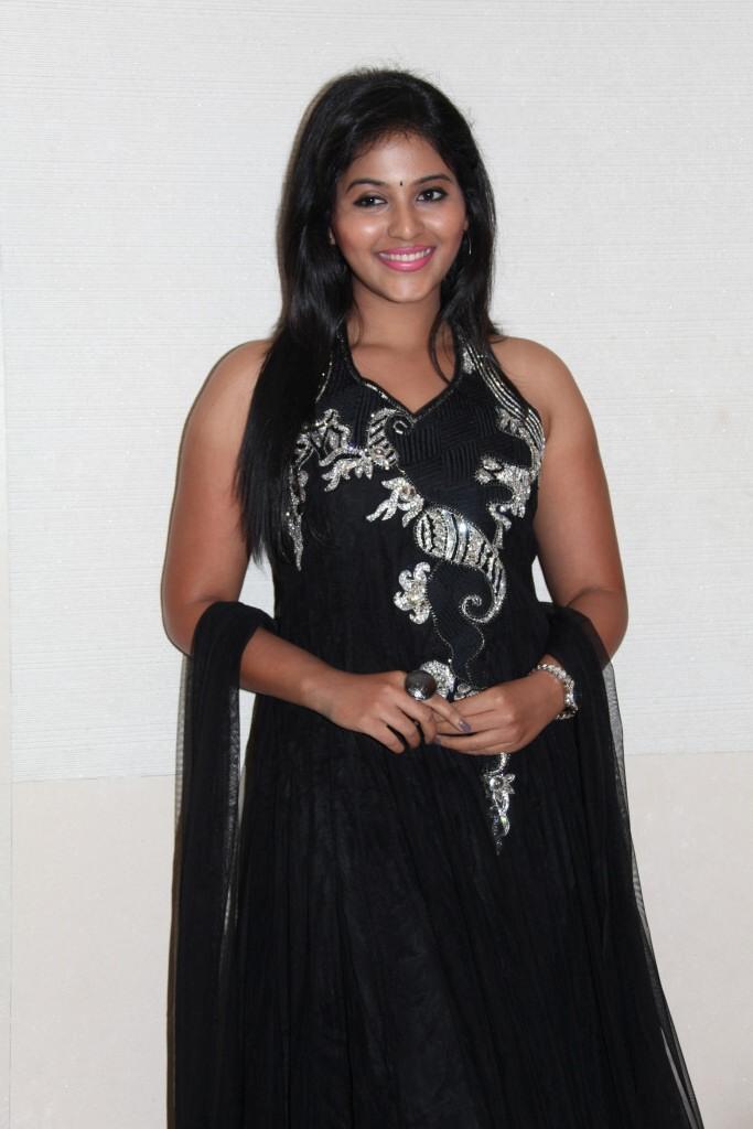 Anjali Charming Look Photo Still At Balupu Movie Logo Launch