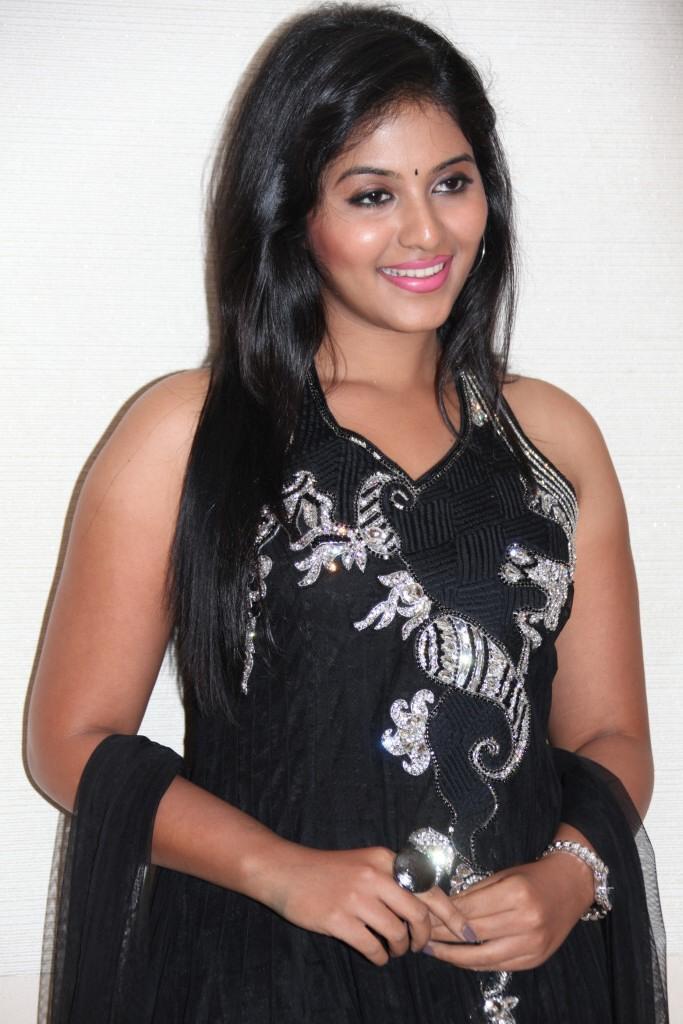 Anjali Trendy Looking Photo Still At Balupu Movie Logo Launch