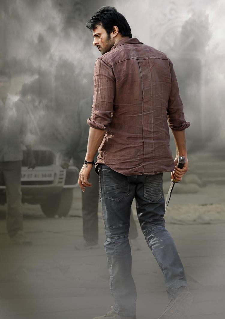 Prabhas Angry Look Photo From Telugu Movie Mirchi
