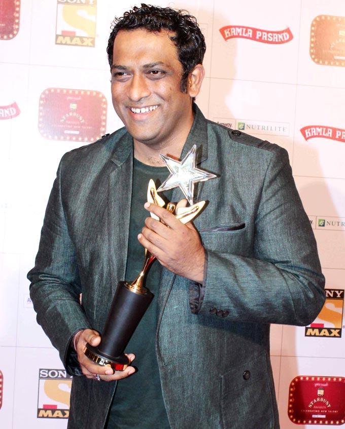 Anurag Basu Got Best Director Award At Stardust Awards Function