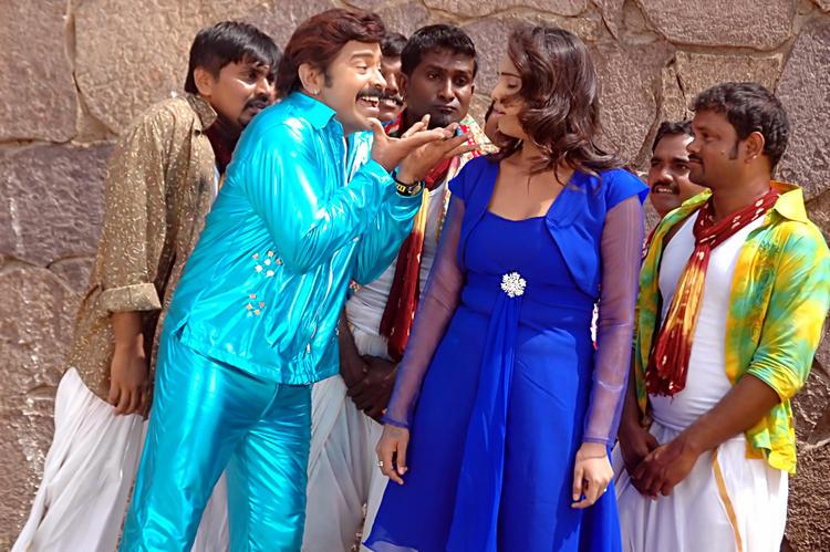 Abhinayashree And Yati Raja Nice Still From Pandavulu Movie