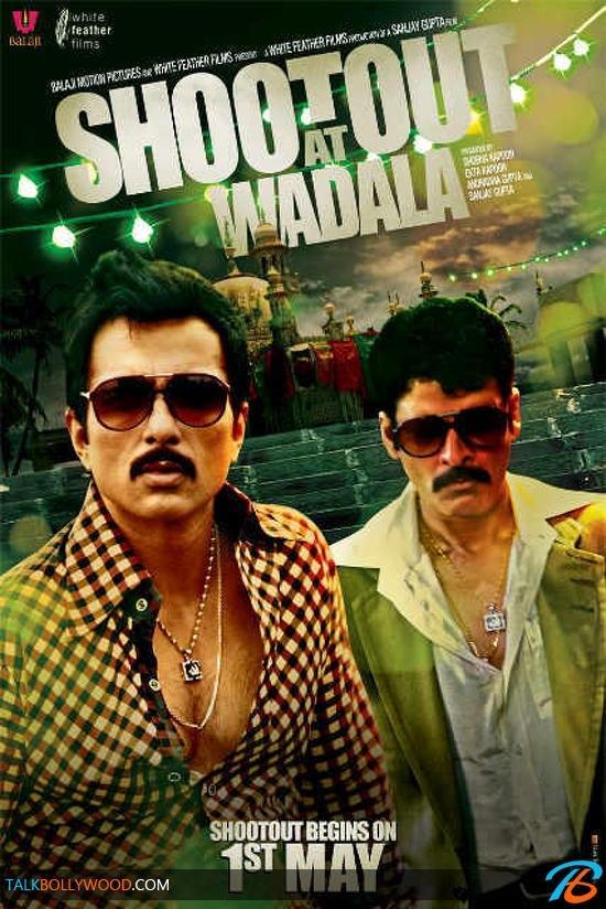 Sonu Sood Stylish Look In Shootout At Wadala Poster