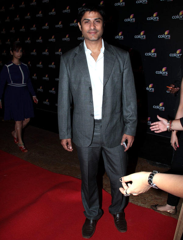 Vikas Bhalla Clicked In Red Carpet At Colors 4th Year Celebration Party