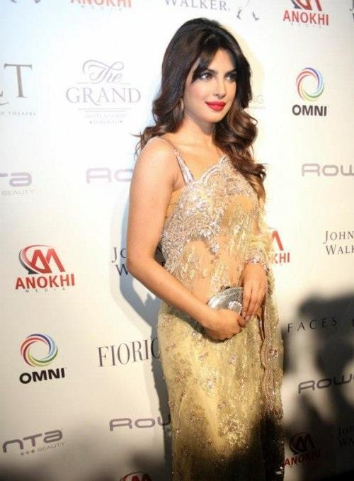 Priyanka Chopra Dazzles At Anokhi 10th Anniversary Event
