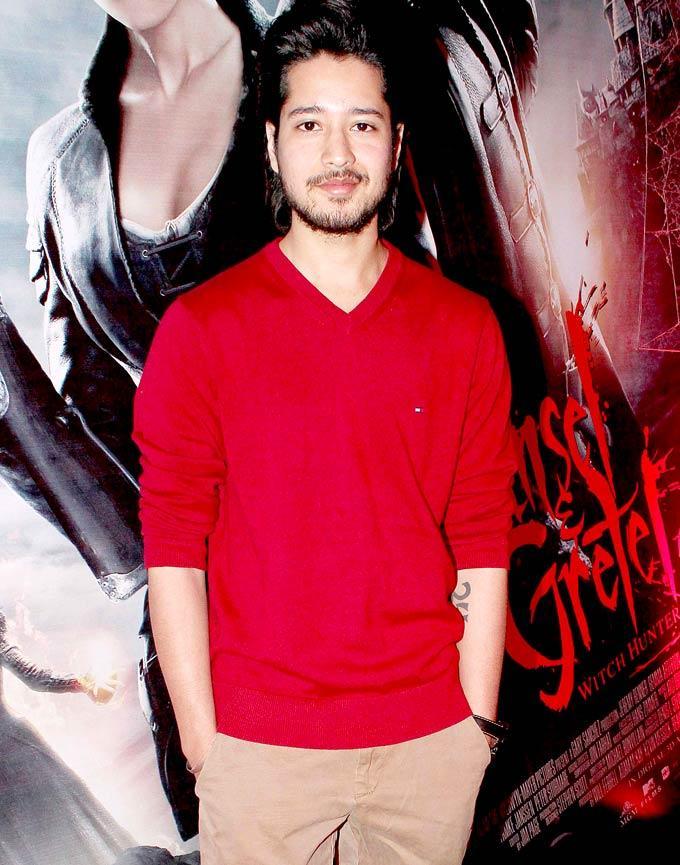 Rajat Barmecha In Red Shirt Dazzling Look At Hansel Gretel Premiere Event