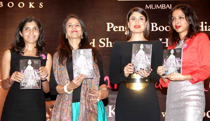 Kareena Kapoor Khan With Shobha De Launched Book At Rochele Pinto Book Launch Event