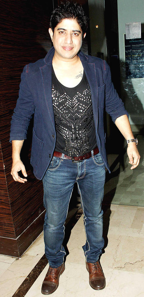 Harry Anand Dazzling Look At The Launch Of Manoj And Teejay Bohra Production House