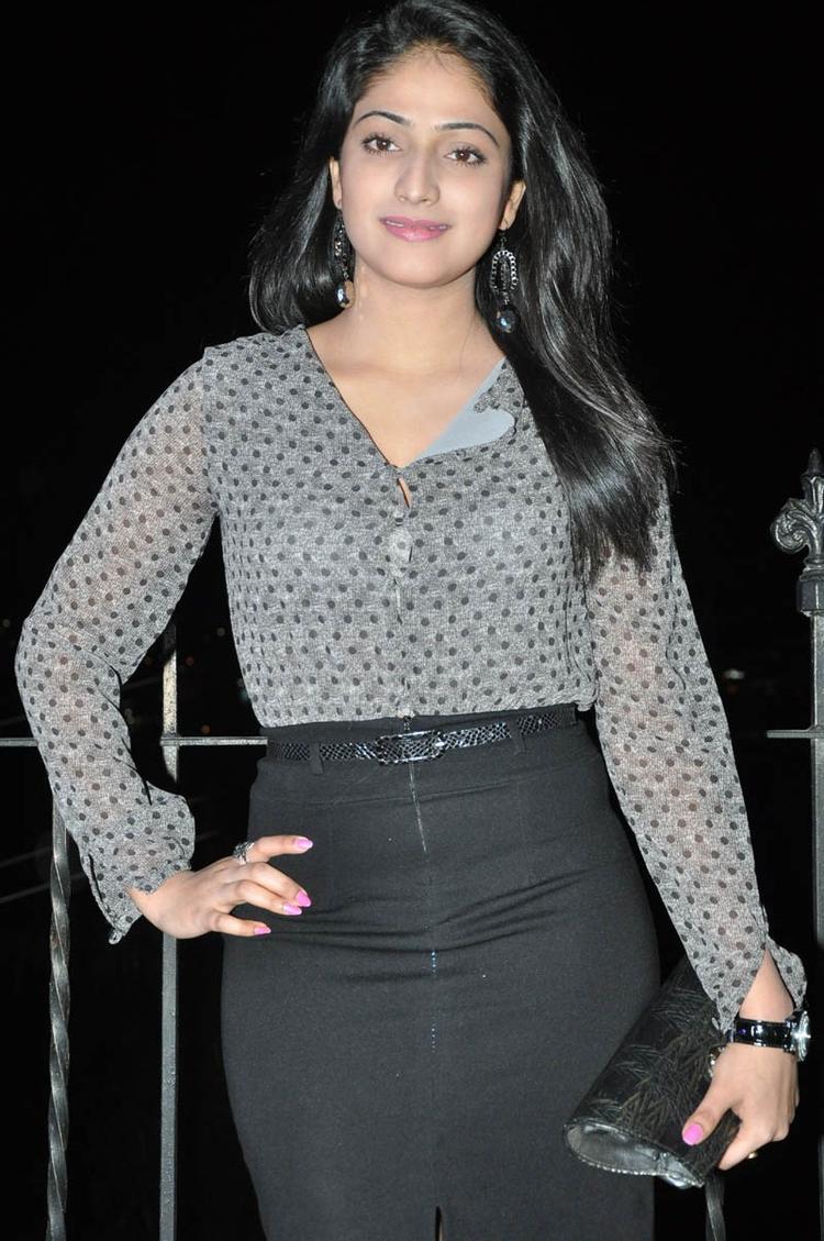 Haripriya Glamour Look Still At Abbai Class Ammai Mass Audio Launch Function