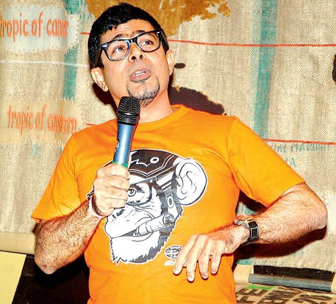 Arzan Khambatta Takes The Mic At The Kala Ghoda Arts Festival 2013