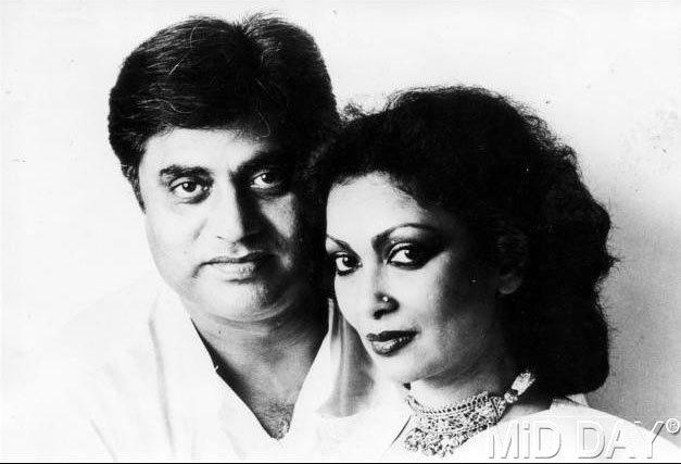 Jagjit Singh And Wife Chitra Singh Photo