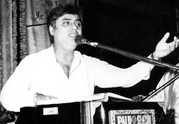 Jagjit Singh Singing Pose Still
