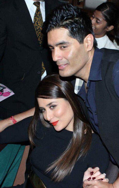 Kareena And Manish Snapped At Rochele Pinto Book Launch Event