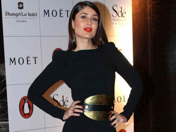 Kareena Posed For Camera At The Launch Of Book The Style Diary Of A Bollywood Diva