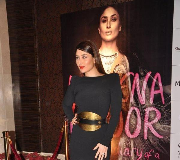 Kareena Strikes A Pose At Rochele Pinto Book Launch Event