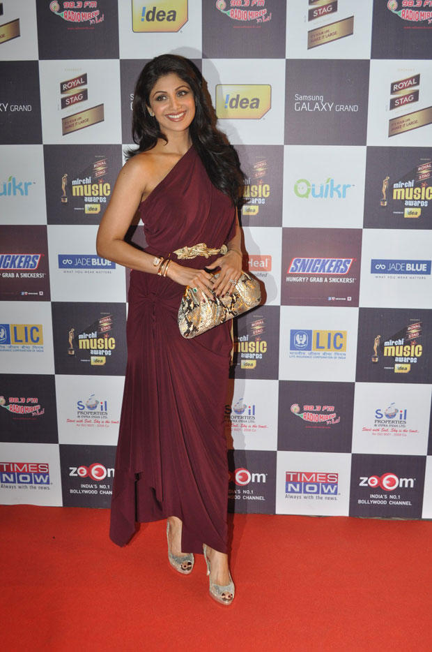 Shilpa Shetty Make An Appearance At 5th Radio Mirchi Music Awards