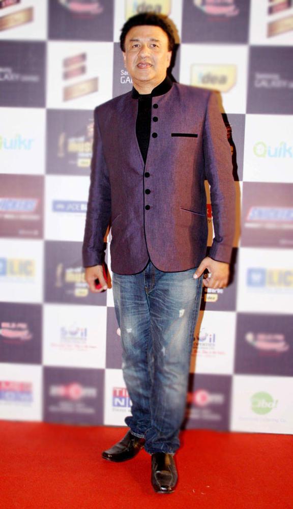 Anu Malik Posed At Radio Mirchi Music Awards Red Carpet 2013