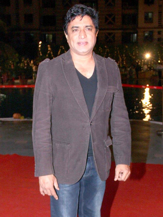Anand Raj Anand Dazzling Look At Anjan Shrivastav Son's Wedding Reception