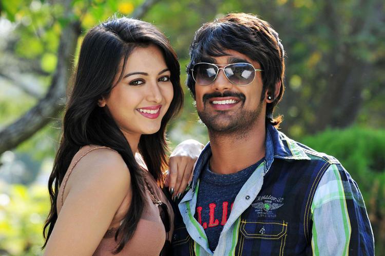 Varun And Catherine Cute Smiling Photo Still From Movie Chammak Challo