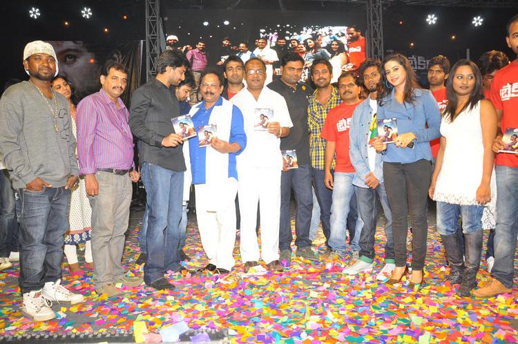 Ranadheer,Swathi,Nani And Sagar On Stage At Break Up Audio Launch