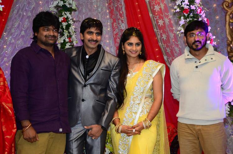 Harish Make An Appearance At Gopichand Malineni Wedding Reception