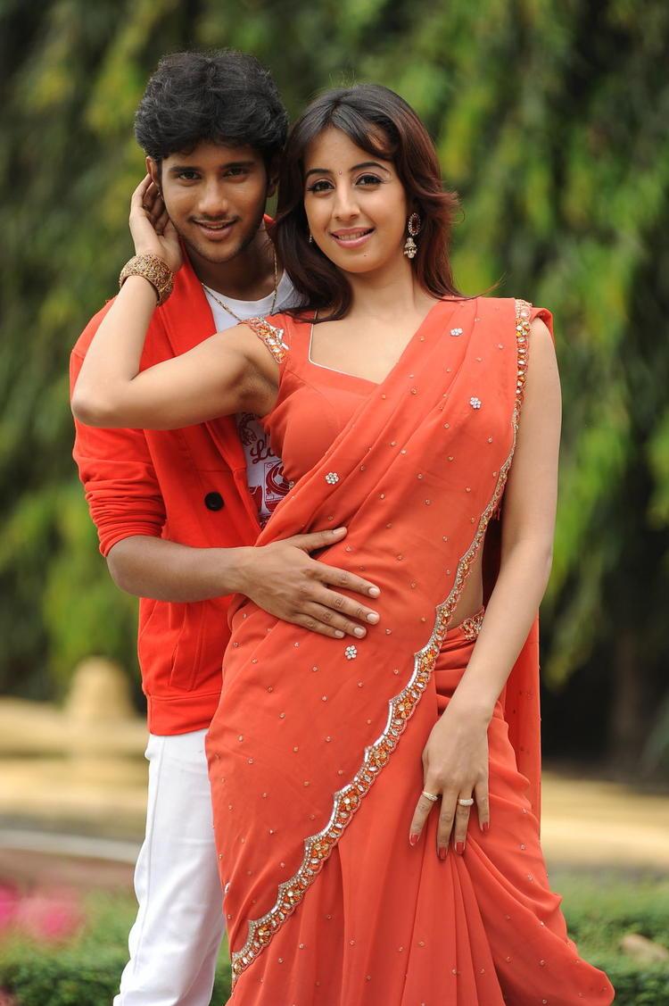 Jayanth And Sanjana A Song Still From Siva Kesav Movie