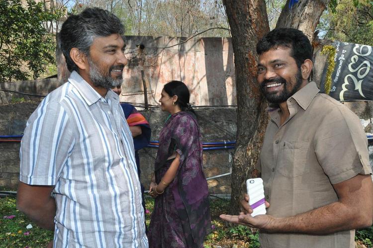 S. S. Rajamouli And Sukumar Cool Chatting Still At Emo Gurram Egara Vachu Movie Launch Event