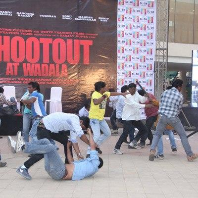 A Serious Fighting Still On The Sets Of Shootout At Wadala