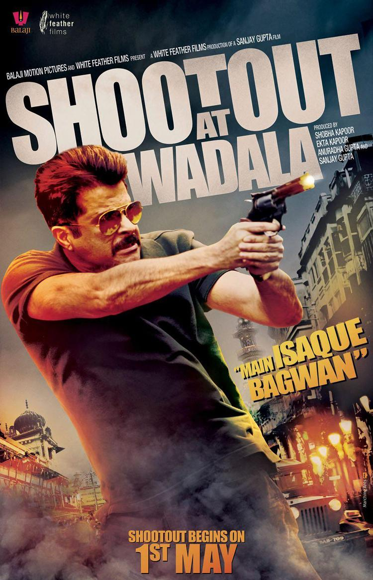 Anil Kapoor Performs Some Cool Action In Shootout At Wadala Poster