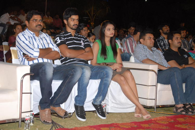 Mahat And Nikitha Spotted At Jai Sriram Audio Launch Function