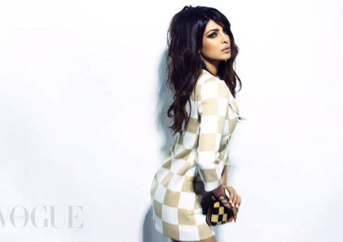 Priyanka Chopra Nice Pose Photo Shoot For Vogue India March 2013