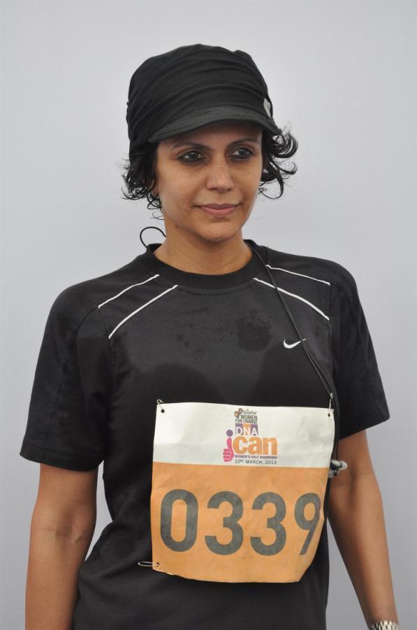 Mandira Bedi Snapped At DNA I Can Womens Half Marathon
